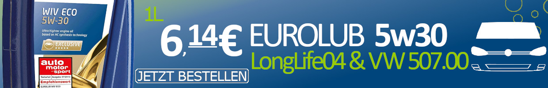 Eurolub Wiv Eco 5w-30 LongLife 04 VW 507.00
