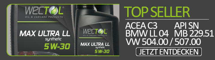 Wectol Motoröl Max Ultra LL