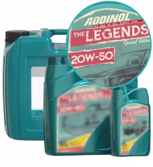 Addinol Oldtimer Öl Legends 20w50