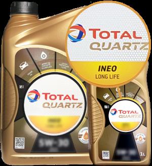 Total Motoröl 5W30 Quartz Ineo Longlife 5W-30